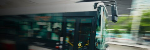 page banner - dynamic photo of a bus