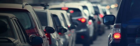 page banner - street traffic cars